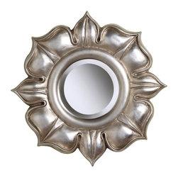 Sterling Industries - Lotus In Bright Silver Leaf - Lotus In Bright Silver Leaf