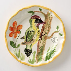 Eclectic Dinner Plates French Bird Dinner Plate