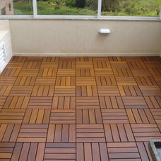 Contemporary Hardwood Flooring by FlexDeck