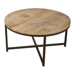 Ayodhya Round Coffee Table - Product Features: