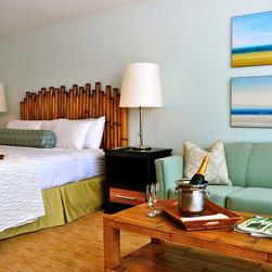 2013 catalog - Cabana bedroom headboard made of authentic bamboo.