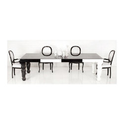 Fat Albert Dining Table - A bold table always makes for a wonderful conversation starter at dinner.