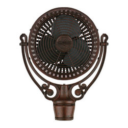 Fanimation - Fanimation Old Havana Fan Motor Only in Rust FPH210RS - The strong silhouette and intricate details of the Old Havana epitomize Old World class and sophistication. The Old Havana has an antique style that is reminiscent of a time when people relied solely on fans to stay cool. Although the Old Havana historic look would make its pre-air conditioning predecessors proud, its modern engineering allows this fan to operate on three speeds in both dry and damp locations.