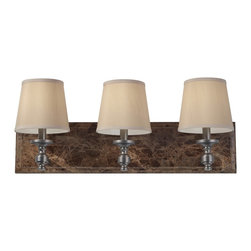 Murray Feiss - Murray Feiss VS34003-PORB Carrollton Transitional Bathroom / Vanity Light - Murray Feiss VS34003-PORB Carrollton Transitional Bathroom / Vanity Light