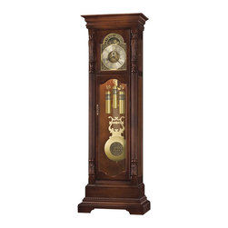 Howard Miller - Howard Miller Elgin Floor Clock In Hampton Cherry Finish - Howard Miller - Floor Clocks - 611190