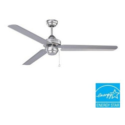 Designers Choice Collection - Indoor Ceiling Fans: Designers Choice Collection Studio-54 54 in. Brushed Steel - Shop for Lighting & Fans at The Home Depot. Style and function converge with the 54 in. Designers Choice Collection STUDIO-54 Ceiling Fan. A Brushed Steel motor finish is matched by 3 metal dual-angle blades. Equipped with energy efficient yet peak performing 188mm motor, this model offers exceptional air movement volume. A floor to blade clearance of at least 10 ft. is required.