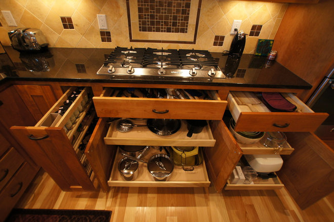 Craftsman Kitchen by A Better Home