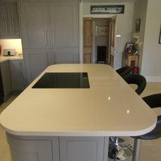 Modern Kitchen Islands And Kitchen Carts by Cheshire Granite Worktops