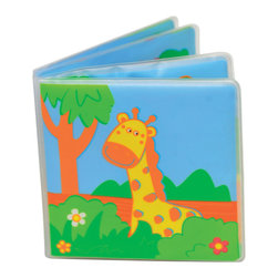 "Peva Musical Bath Book Forest Animals Childish Multicolor - This ""forest animals"" bath book for children is in PVC. This waterproof book with floatable vinyl pages features bright and humorous forest animals and makes musical tones on the theme of the savanna. Phthalate free PVC. Ages 1 year and up. Clean with warm soapy water. Length 5.9-Inch and height 6.1-Inch. Color Multicolor. Complete your decoration Childish with the other products of the same collection. Imported."