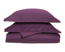1000 Thread Count Cotton Rich King Plum Sheet Set - Cotton Rich 1000 Thread Count King Plum Sheet Set