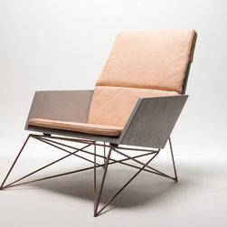 Modern Muskoka Concrete Chairs -