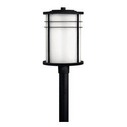 Hinkley Lighting - Hinkley Lighting 1121VK-GU24 Ledgewood 1 Light Post Lights & Accessories in Vint - Ledgewood's bold construction features a unique oval shaped, over scaled design with elegant, clean line details.
