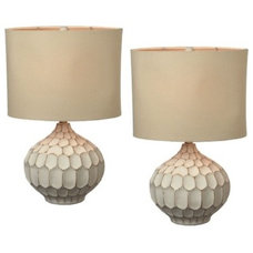 contemporary table lamps by Colom & Brit Interiors