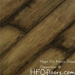 Mega Clic French Bleed - Mega Clic French Bleed, Burgund 12.3mm laminate flooring. Available at HFOfloors.com.
