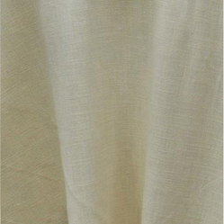 "Hemstitch Tablecloth, Ivory, Rectangle, 70""x128"""