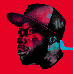 Dilla Dawg (Original) by Ike Slimster - THIS IS A POTRAIT OF THE WELL RENOWNED AND ADMIRED HIP HOP MUSIC PRODUCER JAMES YANCEY A.K.A J DILLA, THE INFLUENCE WAS HIS RAW USE OF SOUNDS TO CREATE SOME ABSTRACT AND BEAUTIFUL MUSIC.