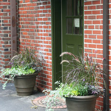 Eclectic Outdoor Pots And Planters by Kim Gamel