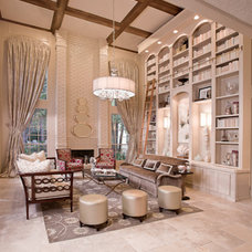 Contemporary Living Room by By Design Interiors, Inc
