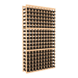 Wine Racks America - 10 Column Standard Wine Cellar Kit in Pine, (Unstained) - As a serious wine collector, you know it's time to upgrade your racking system. This impressively solid wooden cellar, available in high grade pine or redwood, is guaranteed to last and beautiful to behold. Salut!
