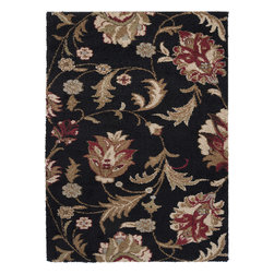 """Surya - Surya Alfredo AFR-3301 (Black Olive, Turtle Green) 7'10"""" x 9'10"""" Rug - The rugs in the Alfredo collection are machine made from 100% polypropylene. They are covered in warm colors and neutral accents. The bright colors and vivid patterns will bring a whole new life to the room that they live in."""