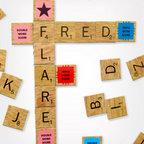 Scrabble Magnet Set -