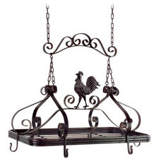 Traditional Pot Racks by Lamps Plus
