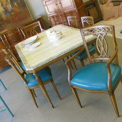 Featured finds at Home Consignments - Vintage eclectic dining set