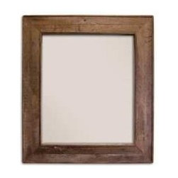"""KCK Bathroom Mirrors & Accessories - Chardonnay Mirror - Made in America. Beveled glass. Horizontal or vertical mounting. Reclaimed oaking staves. Width: 40"""" Depth: 37"""" Finish: Chardonnay"""