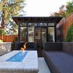 10x12 Studio Shed Pool shed & backyard retreat - 10x12 Studio Shed + Lifestyle Interior