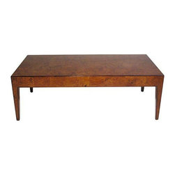 Olive Wood & Rosewood Coffee Table - $3,600 Est. Retail - $2,165 on Chairish.com -