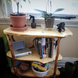 Live Edge Book Shelf Custom Design -
