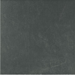 Ambienti Series - Nero Tile  - through-body porcelain floor tile - Many Sizes - Ambienti is a through-body porcelain floor tile available in 4 x 12, 12 x 12, 18 x 18, 12 x 24, 24 x 24 and a 2 x 2 mosaic. This series is notable for its contemporary look with subtle variation. The beauty of Ambienti makes it a good choice for any residential setting. The quality and durability of this series also make it suitable for the demands of a commercial installation.