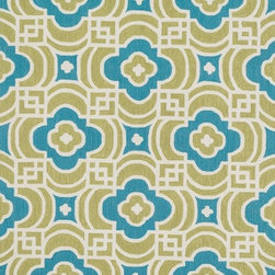 "Loloi - Loloi Francesca FC-46 (Lime, Blue) 5' x 7'6"" Rug - The new Francesca Collection, a hand-hooked polyester line from China, have fresh transitional floral designs colored in a saturated palette that will resonate with home interiors now. The clear, clean hues and smartly drawn, updated florals in Francesca result in finished products that can be placed in homes today."