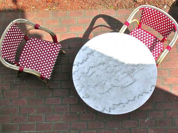 Mediterranean  French Cafe Chair St. Augustine