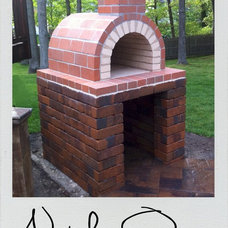 Modern Fireplaces by BrickWood Ovens