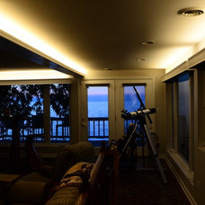 Beach Style Living Room by The Lighting Division