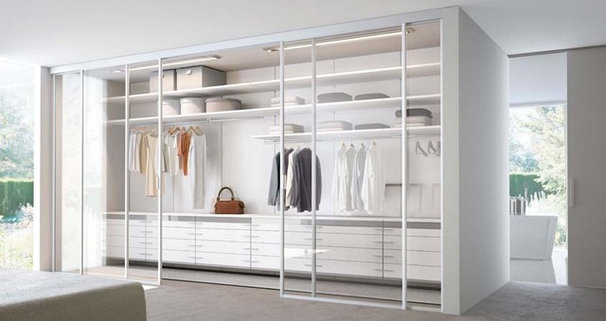Modern Closet by CheaperFloors