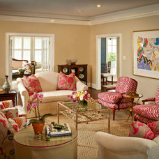 Traditional Living Room by L. Pearson Designs