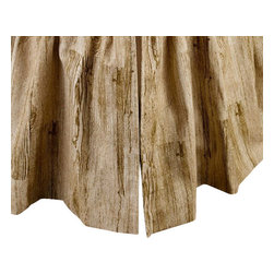 MysticHome - Great Falls - Bed Skirt by MysticHome, King - The Great Falls, by MysticHome