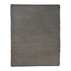 Portland Gray Jute Rug - Jute brings a magnificent, chunky texture to any space. These rugs are expertly handloom-woven by skilled weavers who employ a variety of traditional techniques to create these simply beautiful styles. Jute fibers exhibit naturally anti-static, insulating and moisture regulating properties. It is predominantly farmed by approximately four million small farmers in India and Bangladesh and supports hundreds of thousands of workers in jute manufacturing (from raw material to yarn and finished products).