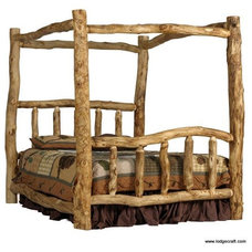 Traditional Beds by LodgeCraft