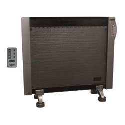 "Soleus HGW-308R Wall Mounted Micathermic Heater W Digital Thermostat - Soleus Air Flat Panel Wall Mountable Micathermic Heater HGW-308RSpecifications:Voltage: 120V (60Hz)Watts: 1000W/1500WAmps: 12.5AProduct Dimensions: 24.6""W x 8.5""D x 22.5""HWeight: 11 lbs."