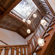 Contemporary Staircase by On Site Management, Inc.