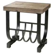 Industrial Side Tables And End Tables by Fratantoni Lifestyles