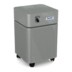 Austin Air - Austin Air Allergy Machine/Hega, Silver - The Allergy Machine features High Efficiency Gas Absorption, removing contaminants out of the air before they get a chance to irritate and trigger your asthma or allergies.