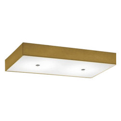 """Modoluce - Modoluce Rettangolo Slim Ceiling Light - The Rettangolo Slim Ceiling Light from Modoluce has been designed by ModoLuce Research in 2013. This ceiling mounted luminaire is great for incandescent lighting. The Rettangolo is composed with the lamp shade in cotton or pleated cloth. The cotton fabric option is available in: ivory, white, lobster, red, plum, black, brown, acid green, sand, gold, orange, lilla, blue and grey. The pleated fabric option offers: white, beige, black, brown and red. The Rettangolo exhibits a modern and sleek design, along with quality craftsmanship, that is sure to beautifully brighten any contemporary atmosphere.         Product Details: The Rettangolo Slim Ceiling Light from Modoluce has been designed by ModoLuce Research in 2013. This ceiling mounted luminaire is great for incandescent lighting. The Rettangolo is composed with the lamp shade in cotton or pleated cloth. The cotton fabric option is available in: ivory, white, lobster, red, plum, black, brown, acid green, sand, gold, orange, lilla, blue and grey. The pleated fabric option offers: white, beige, black, brown and red. The Rettangolo exhibits a modern and sleek design, along with quality craftsmanship, that is sure to beautifully brighten any contemporary atmosphere. Details:                         Manufacturer:            Modo Luce                            Designer:            ModoLuce Research in 2013                            Made in:            Italy                            Dimensions:            Small: Height: 15.7"""" (13 cm)Width: 9.8"""" (50 cm); Medium: Height: 23.6"""" (13 cm)Width: 11.8"""" (100 cm); Large: Height: 63.0"""" (13 cm) Width: 9.8"""" (150 cm)                            Light bulb:            small; 3 � E27 42W HES; Medium; 6 � 42W E27 HES Large; 8x 42W E27 HES                            Material:            cotton, polyester or hand finished pleated fabric"""