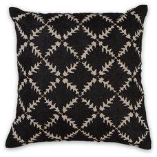 45x45cm Diamond cushion in Black