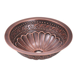 MR Direct - MR Direct 924 Copper Sink Bowl - Our handcrafted copper sinks add warmth and richness to a variety of decors. Our line of copper sinks come in a hammered finished with a beautifully aged patina. The hammered finish will help hide small scratches that may occur over the lifetime of the sink. Copper is a naturally antibacterial and will not rust or stain, making it low maintenance. Our copper sinks are covered by a limited lifetime warranty.