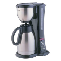 Zojirushi - Zojirushi EC-BD15 Fresh Brew Stainless Steel Thermal Coffee Maker, 0.4 gal - -1.5 liter 10 cup vacuum carafe with stainless steel exterior