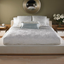 Shanti Bedding Collection in Vanilla
